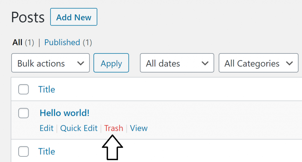 Wordpress-Settings-Posts